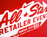 2012 Nike MLB All-Star Retailer Event Invitation