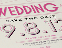 Meghan Martz + Zac Rock Wedding Announcement