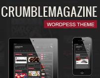 Crumble - Responsive Wordpress Magazine / News / Blog