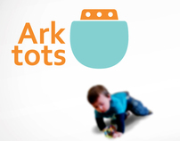 Ark Tots - Branding and material