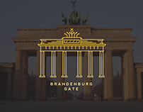 Brandenburg Gate Logo