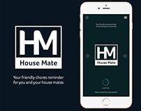 "App Design - ""House Mate"""