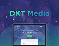 DKT Media Website Design