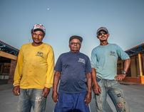 Operários/construction workers