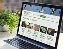 Sitio web Escuela Chilena de Terapia Floral