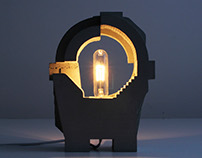 Sculptural Lamp no. 4