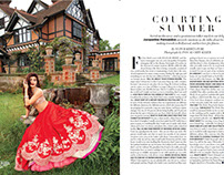 Harper's Bazaar Bride - Jacqueline Fernadez June - July