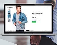 Marcoo. E-commerce, webdesign, fashion