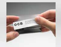 """OCB- """"OCB ROLLING CARDS"""""""