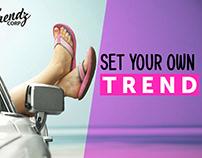 ADS - Banner Design For Trendz Corp - Photoshop