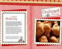 Diseño de una receta de cocina, CROISSANT.