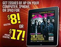 Alternative Press Magazine: Mini Ads