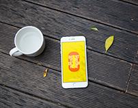 Zero - Free iPhone 6 PSD MockUps Template