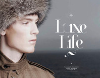 Bleu Magazine - Winter '12 Issue