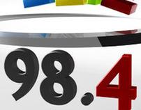98.4 Shabab (Radio Station Logo Animation)