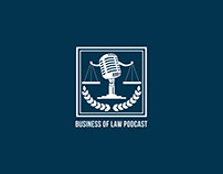Business of Law Podcast Logo Design