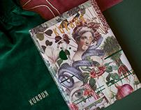 """Zmysłownik"" - collage calendar for KUKBUK Magazine"