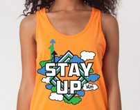 Stay Up Movement Tank-top Design