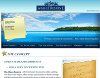 The Abaco Reserve Project Website (Phase 1)