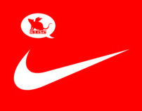 Tee shirt design for Nike