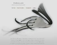 Parallax Restaurant website