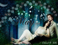 Twilight Calendar Design