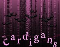 Cardigans Concert Flyer