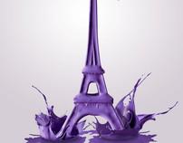 Splashy Tour d'Eiffel