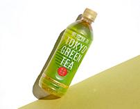 Label Design | Tokyo Green Tea