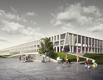 Olsztyn City Stadium's Rebuilding Concept
