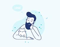 Branded illustrations