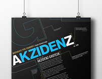 Akzidenz-Grotesk Typeface Poster