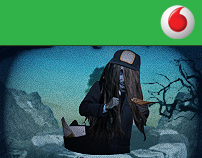 Vodafone -  The Ring Floating / Character Animation