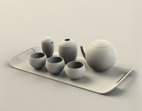 Alessi Tea Set Concept