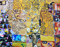 The Wall Project_The Tree of Life from Klimt