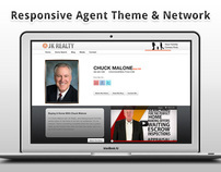 Responsive Agent Theme & Wordpress MultiSite Network