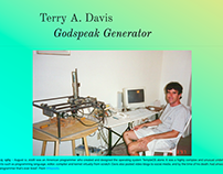 Terry A. Davis Speech Generator