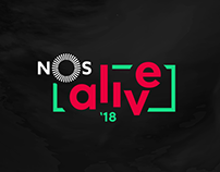 NOS Alive 2018 | Conceito