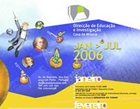 'Casa da Música' annual program -educational department
