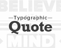 Typographic Quote - Athletes