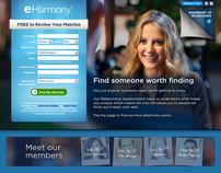 2012 eHarmony UK Homepage