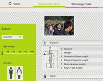 CES: Ergonomics Database Web Tool