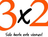 Newsletter Oferta 3x2