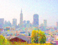 Impresso® City Skyline by MB7Art