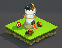Low Poly Tower Defence