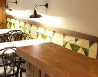 Proyecto de interiorismo de un bar