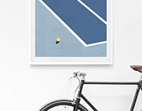 Sport inspired prints by Two Times Elliott