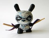"One Bad Panda - Custom 3"" dunny"