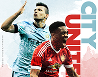 Manchester United Match Day Posters 2015/16
