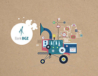 social raport for bank BGZ